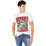 DSQUARED2 Moto Riders Jersey T-Shirt White
