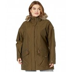 Plus Size Carson Pass IC Jacket Olive Green