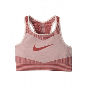 Nike Kids Fenom Seamless Bra (Little Kidsu002FBig Kids) Echo Pink/Cedar/Cedar