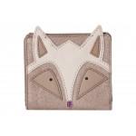 Fox Novelty Rfid Mini Wallet Champagne