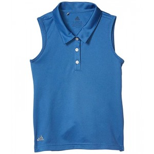 adidas Golf Kids Tournament Sleeveless Polo Shirt (Little Kidsu002FBig Kids) Trace Royal