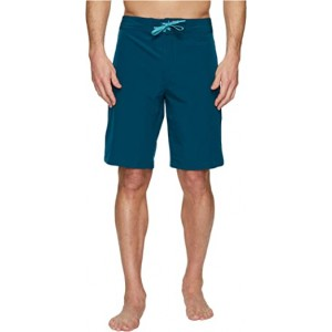UA Stretch Boardshorts Tourmaline Teal Desert Sky Rocket Red