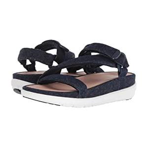 Loosh Luxe Z-Strap Denim Sandals