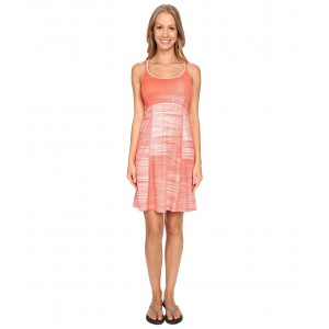 Empower Dress Radiant Orange Scratchy Print (Prior Season)