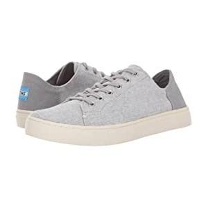 Lenox Sneaker Drizzle Grey Slub Chambray