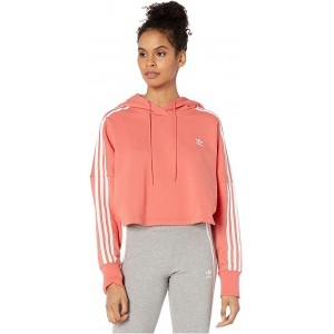 adidas Originals Cropped Hoodie Trace Scarlet