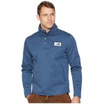 Sherpa Patrol 1/4 Snap Pullover Shady Blue Heather