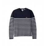 Milano Striped & Buttoned Sweater (Toddler/Little Kids/Big Kids)