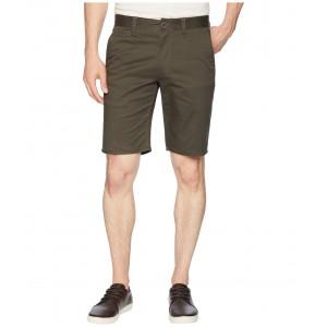 Toil II Hemmed Shorts Moss