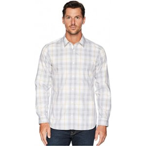 Plaid Sport Shirt Standard White