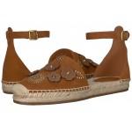 Astor Ankle Strap Espadrille Saddle