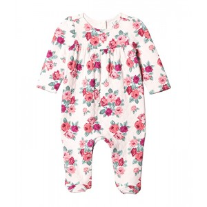 Floral Matelasse Footed One-Piece (Infant)