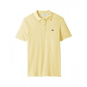 Short Sleeve Slim Fit Pique Polo