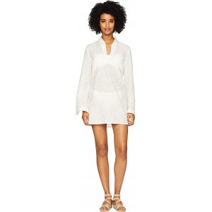 Daisy Stephanie Tunic Cover-Up Ivory Daisy