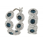 Angelic Hoop Pierced Earrings