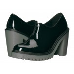Cordelia Gusset Slip-On Shoe Black Patent Lamper