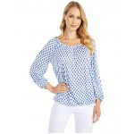 Classic Mini Medallion Peasant Top