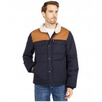 Arctic Cloth Quilted Woodsman Trucker Jacket w/ Sherpa Collar