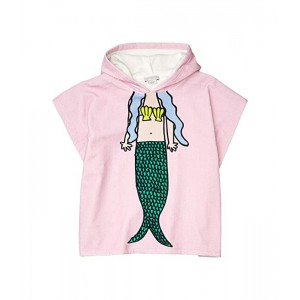 Hooded Towel with Mermaid - Small