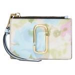 Snapshot Watercolor Top Zip Multi Wallet