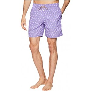 Starfish Toss Swim Trunk Lilac