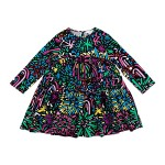 Long Sleeve Fireworks Dress (Toddler/Little Kids/Big Kids)