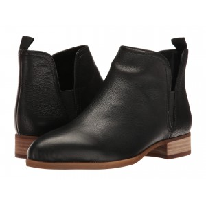 Nesrin Casual Bootie Black Leather