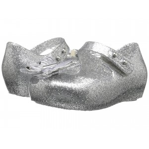 Mini Ultragirl Fly (Toddler/Little Kid) Shiny Silver Glitter