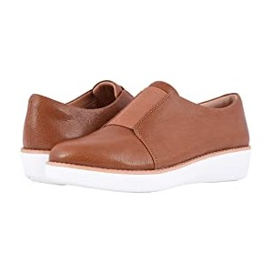 Laceless Derby Tumbled Tan