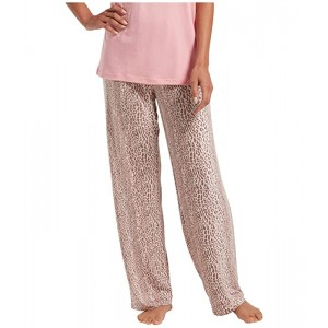 Leopard Stripe Long PJ Pants with Temp Tech