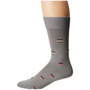 Multi Polka Sock Grey Multi
