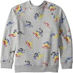 Billy Long Sleeve All Over Cars Fleece Sweater (Toddler/Little Kids/Big Kids)