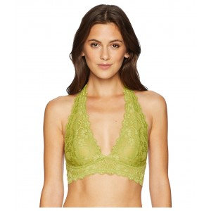 Galloon Lace Halter Chartreuse