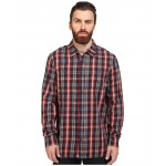Canehill Long Sleeve Flannel Red Dahlia/Dress Blues