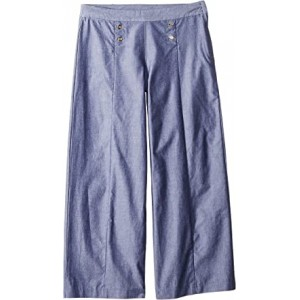 Wide-leg Pants (Toddler/Little Kids/Big Kids) Chambray