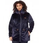 Plus Size Fire Side Sherpa Long Full Zip