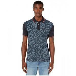 Animal Print Short Sleeve Polo Shirt