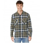 Barda Flannel Shirt Olive Night