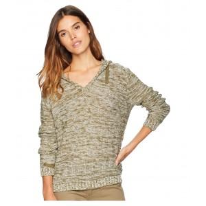 Military Tones V-Neck Sweater Burnt Olive