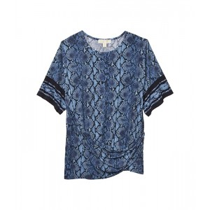 Plus Size Snake Border Tie T-Shirt