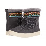 Alpine Water-Resistant Boot Forged Iron Grey Waterproof Suede/Tribal Webbing