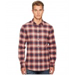Check Metal Wired Collar Shirt Red/White