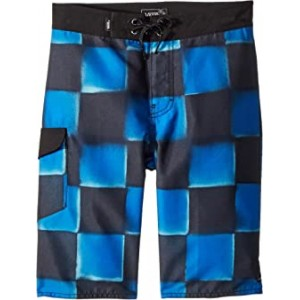 Check Yourself II Boardshorts (Little Kids/Big Kids) Victoria Blue
