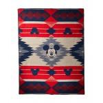 Disney - Mickeys Frontier Jacquard Blanket (Kids)