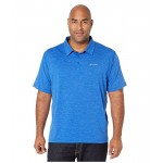 Columbia Big & Tall Tech Trail Polo Azul