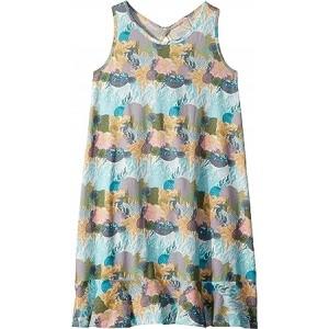 Mission Bell Dress (Big Kids) Marshmallow High Tide Flower