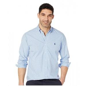 Polo Ralph Lauren Classic Fit Poplin Sport Shirt Blue/White Check