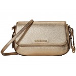 Bedford Legacy Large Flap Crossbody Pale Gold
