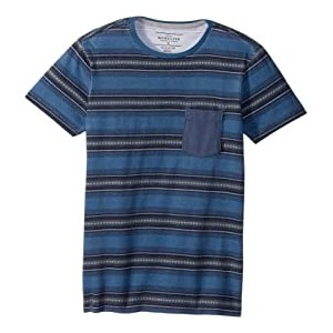 Bayo Pocket Short Sleeve Top (Big Kids) Blue Night Bayo