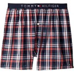 Single Woven Boxers Rouge